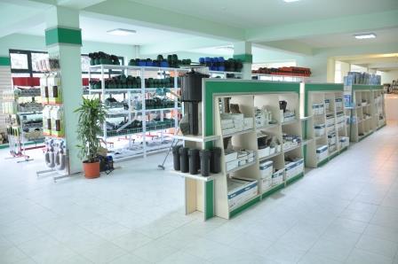 SHABRAN-D MMC satış mərkəzi və məhsulları